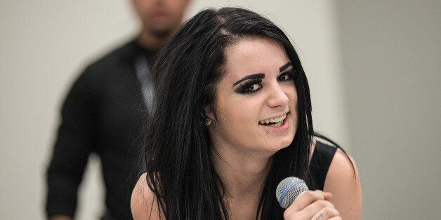 CLEVELAND, OH - FEBRUARY 21: WWE Diva Paige attends Wizard World Comic Con at Cleveland Convention Center...
