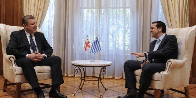 Εμβάθυνση της συνεργασίας Ελλάδας και Γεωργίας αποφάσισαν Τσίπρας και