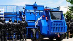 Τηλεχειριζόμενο όχημα για προστασία των αστυνομικών δυνάμεων καταστολής