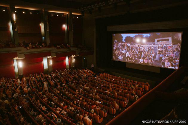 Στιμγιότυπο από την τελετή έναρξης του Διεθνούς Φεστιβάλ Κινηματογράφου - Νύχτες