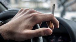 Πρόστιμο 1.500 ευρώ σε όποιον καπνίζει στο αυτοκίνητο (ακόμα και ηλεκτρονικό τσιγάρο) ενώ είναι μέσα