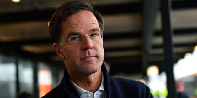 Dutch Prime Minister and leader of the People's Party for Freedom and Democracy (Volkspartij voor Vrijheid...