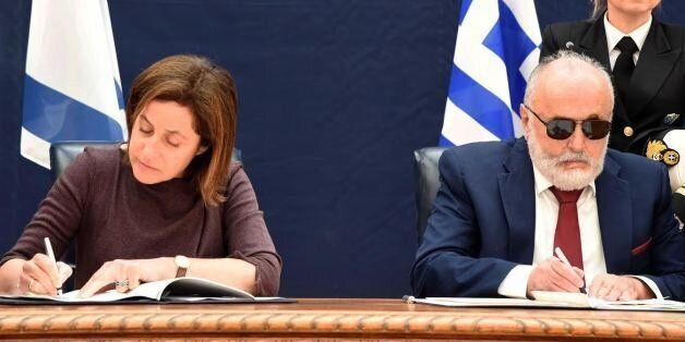 Διμερής συμφωνία Ελλάδας-Ισραήλ για τις θαλάσσιες