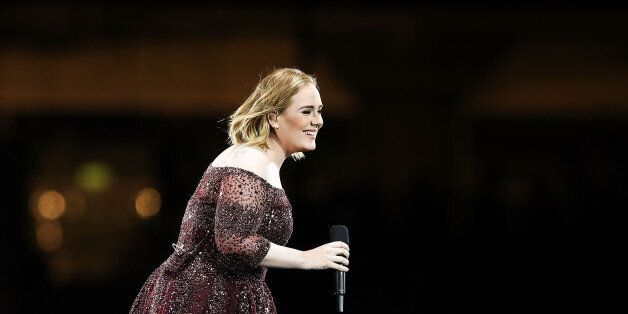 SYDNEY, AUSTRALIA - MARCH 10: Adele performs at ANZ Stadium on March 10, 2017 in Sydney, Australia. (Photo...