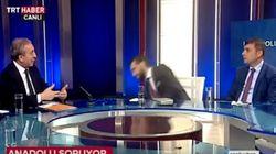 Τούρκος διευθυντής καναλιού λιποθυμά στο πλατό άλλου τηλεοπτικού