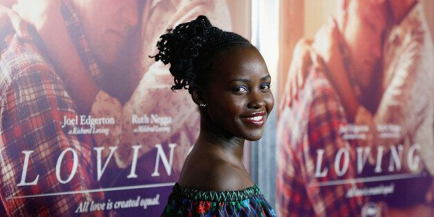 NEW YORK, NY - OCTOBER 26: Lupita Nyong'o attends 'Loving' New York Premiere at Landmark Sunshine Theater on October 26, 2016 in New York City. (Photo by John Lamparski/WireImage)