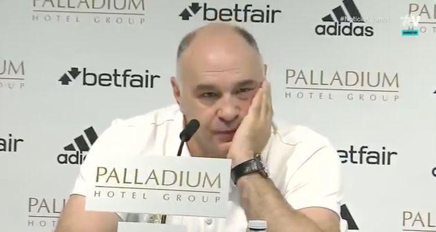 Pablo Laso, entrenador del Real