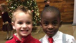 Αφού αυτά τα παιδιά ήθελαν να έχουν το ίδιο κούρεμα για να τα μπερδεύουν, υπάρχει ακόμα ελπίδα σε αυτόν τον