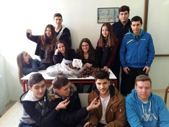 Καστανάλευρο που «σπάει ταμεία» από τους μαθητές του ΓΕΛ Αγιάς