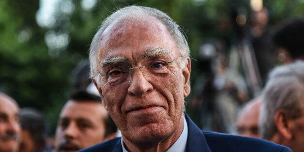 Vasilis Leventis, chairman of the Union of Centrists in Athens on Monday, July 25, 2016 (Photo by Wassilios...