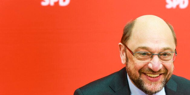 BERLIN, GERMANY - MARCH 06: Martin Schulz, SPD Top Candidate for 2017 Federal Election, prior SPD party...