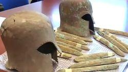 Ράβδοι ορειχάλκου, μετάλλου που συνδέεται με τον θρύλο της Ατλαντίδας, ανασύρθηκαν από αρχαίο