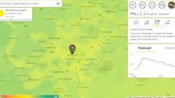 Τι αναπνέουμε στην Αθήνα; Αυτός ο χάρτης δείχνει πόσο μολυσμένος είναι ο αέρας σε κάθε πόλη του