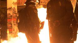Επιθέσεις με μολότοφ και πέτρες σε διμοιρίες των ΜΑΤ τα ξημερώματα στα