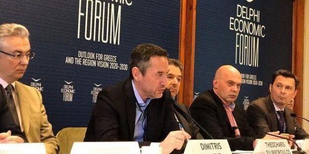 Δημήτρης Μάρης στο Delphi Economic Forum: Τώρα είναι η στιγμή για νέες