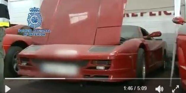 Ισπανία: Έφτιαχναν...Ferrari και Lamborghini - «μαϊμού», φτιαγμένες από εξαρτήματα παλιών