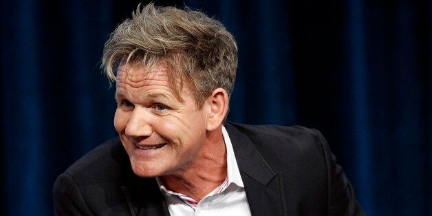 Judge and executive producer Gordon Ramsay attends a panel for the television
