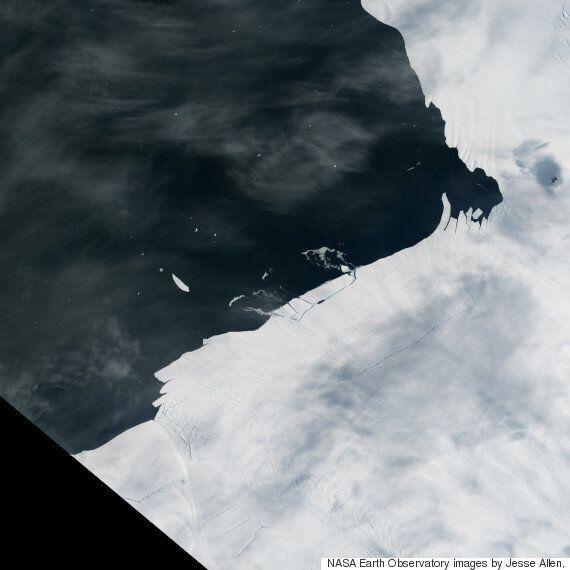 Γιγαντιαίο παγόβουνο, μεγέθους αντίστοιχου του Μανχάταν, αποκόπηκε από την
