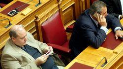 «Σύννεφα» στη συνεργασία ΣΥΡΙΖΑ-ΑΝΕΛ. Φίλης: Έγινε για συγκυριακούς