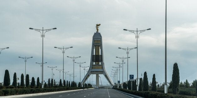 The Turkmenistan capital of Ashgabat is about the size of Spain and with around 5 million inhabitants....