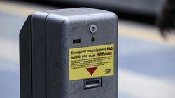 Βανδαλισμοί ακυρωτικών μηχανημάτων στο σταθμό Νέο