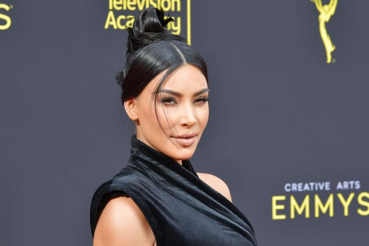 Kardashian attends the 2019 Creative Arts Emmy Awards on Sept. 14, in Los Angeles.