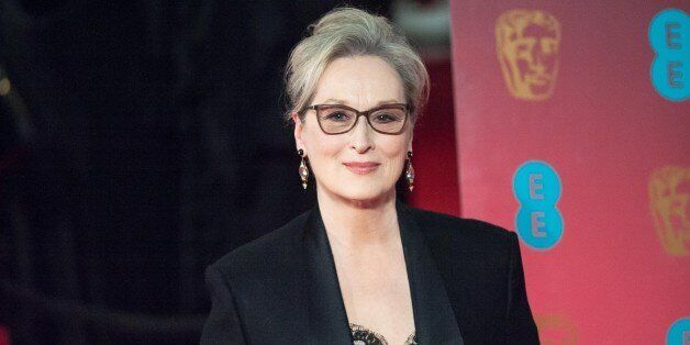 LONDON, UNITED KINGDOM - FEBRUARY 12: Meryl Streep attends the 70th British Academy Film Awards (BAFTA)...