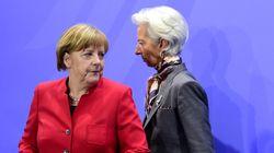 Συνάντηση Μέρκελ - Λαγκάρντ για την επόμενη ημέρα του ΔΝΤ στο ελληνικό