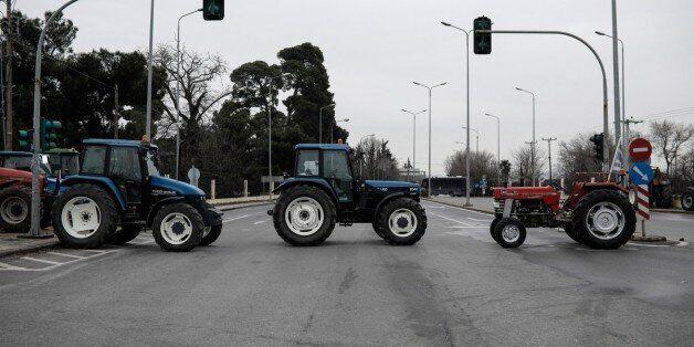 Συνεχίζονται οι κινητοποιήσεις των αγροτών. Στο κέντρο της Θεσσαλονίκης με τα
