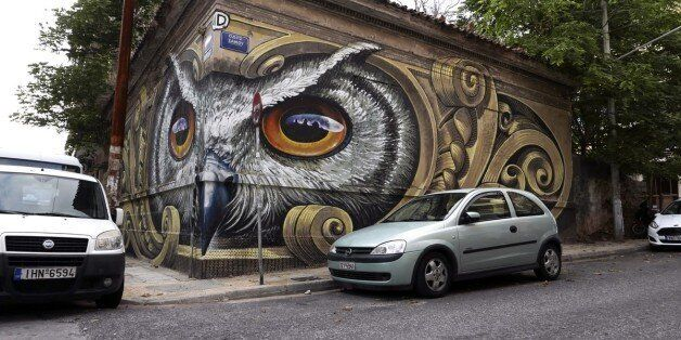 Βανδαλίστηκε το εντυπωσιακό γκράφιτι με την κουκουβάγια στο