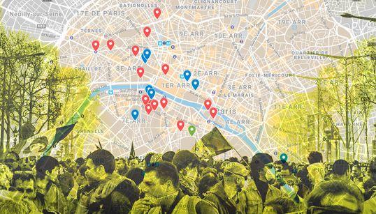 La carte des lieux fermés pour les Journées du patrimoine par crainte des gilets