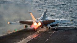 Αεροπορικοί βομβαρδισμοί από τον συνασπισμό υπό τις ΗΠΑ στη Συρία, εν όψει των επιχειρήσεων κατά της