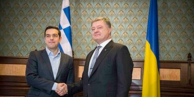 Συνάντηση Τσίπρα-Ποροσένκο. «Η Ελλάδα είχε συμφέρον να αρθούν οι