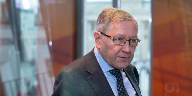 Klaus Regling, chief executive officer of the European Financial Stability Facility (EFSF), speaks ahead...