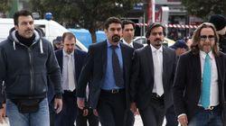 Πρωτοδικείο Αθηνών: Να παραμείνουν κρατούμενοι οι