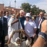 Bill Clinton s'offre un bain de foule à