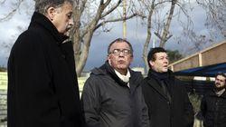Ένταση κατά την επίσκεψη Μουζάλα στο Ελληνικό. Κατηγόρησε ελληνικές οργανώσεις για υποκίνηση ψευδών