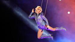 Η Lady Gaga πήδηξε από τη στέγη του σταδίου στο Super Bowl. Ναι, καλά