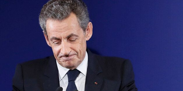 Nicolas Sarkozy, former French president and candidate for the French conservative presidential primary,...