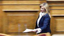 Γεννηματά: «Ο πολιτικός κυνισμός του κ. Τσίπρα δεν θα τον