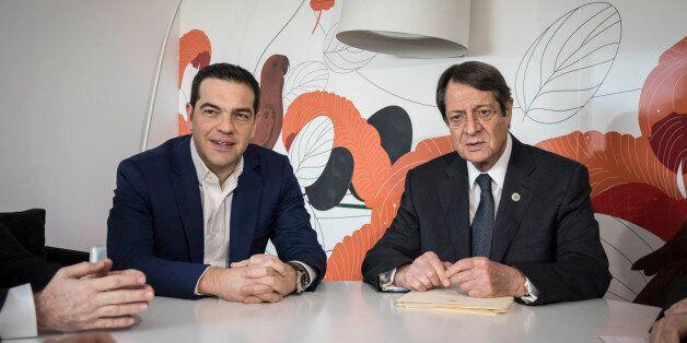 Το Κυπριακό στο επίκεντρο της συνάντησης Τσίπρα με Αναστασιάδη στη