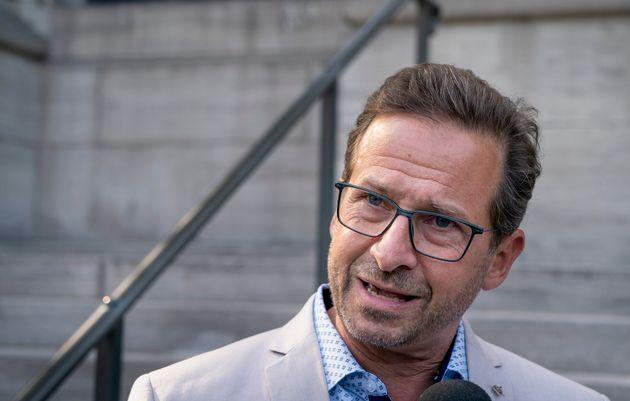 Le chef du Bloc québécois, Yves-Francois