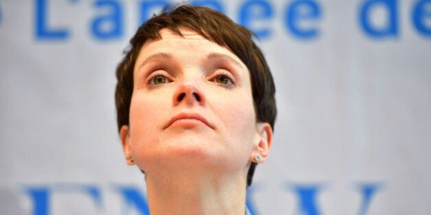 KOBLENZ AM RHEIN, GERMANY - JANUARY 21: Frauke Petry, leader of the Alternative fuer Deutschland (AfD)...