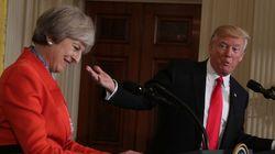 Το γραφείο Τύπου του Ντόναλντ Τραμπ μπέρδεψε την πρωθυπουργό της Βρετανίας με μια