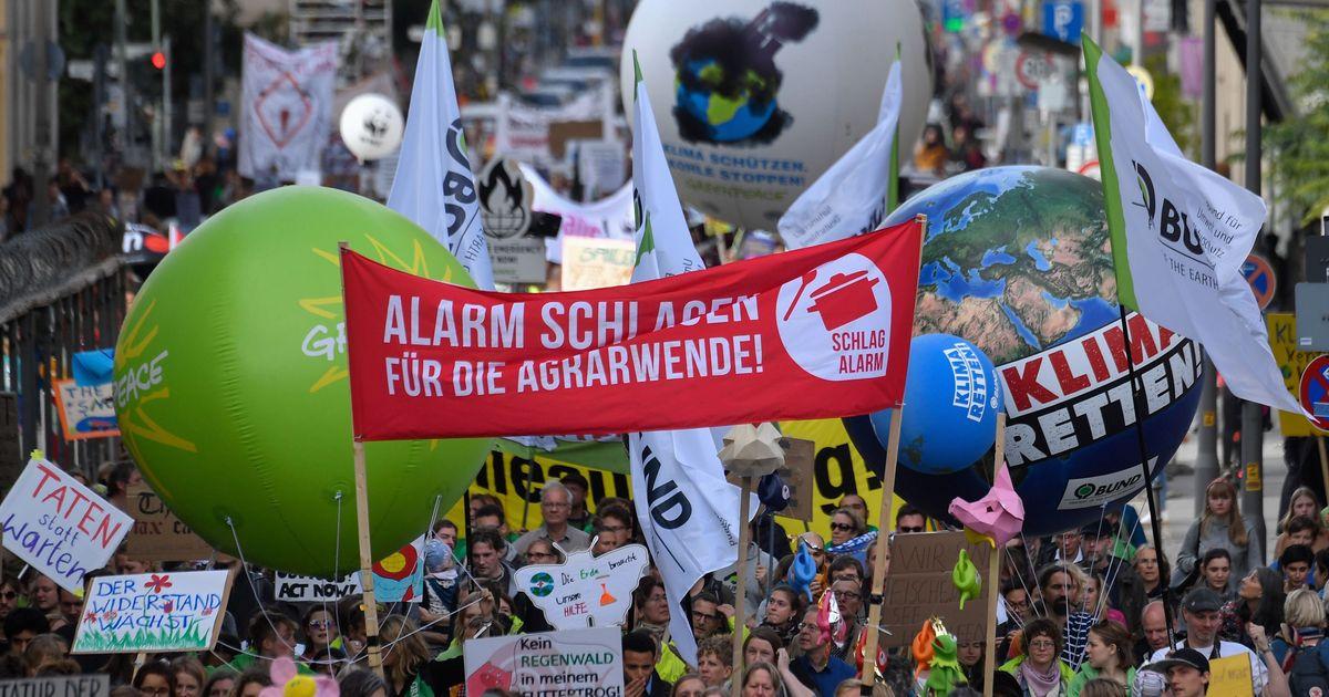 En Allemagne 1 million de personnes défilent pour le climat, le gouvernement promet 100 milliards