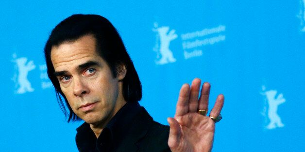 Cast member Nick Cave poses during a photocall promoting the
