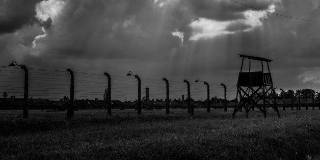 Auschwitz, Poland - May 26, 2014: The Auschwitz concentration camp is located about 50 km from Krakow....
