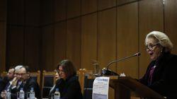 Τι απαντά η Ένωση Δικαστών και Εισαγγελέων στην πρόεδρο του Αρείου Πάγου για τα όρια
