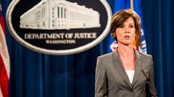 Ο Τραμπ καρατόμησε την υπηρεσιακή υπουργό Δικαιοσύνης επειδή διαφώνησε με το διάταγμα για τους