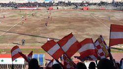 O πρώτος ποδοσφαιρικός αγώνας μετά από 5 χρόνια πολέμου στο